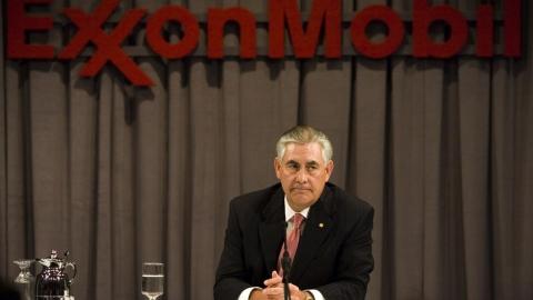 Rex Tillerson As Exxon Mobil Executive